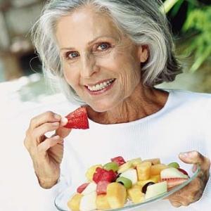 Menopauza a zdravá strava